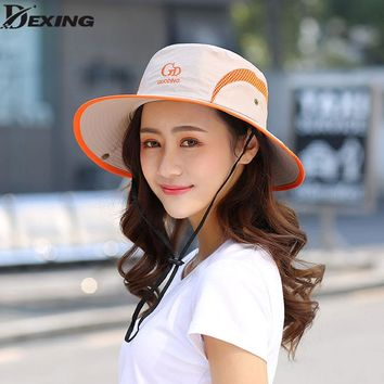 UPF 50+ Bucket Hat Men Women Bob Boonie Hat Summer UV Protection  Cap Military Army Hiking Tactical Outdoor Sun Hat