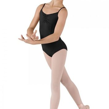 Bloch Girl's Cami Leotard with back detail