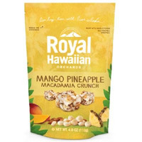 Royal Hawaiian Orchards Fruit Nut Mango Pineapple (6x4oz )