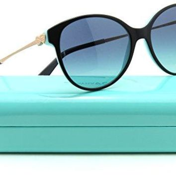 Tiffany & Co. TF 4127 Women Round Sunglasses Blue Gradient 80559S