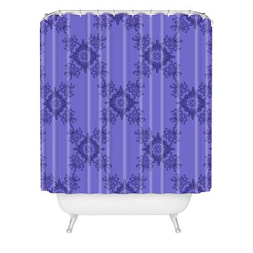 Lara Kulpa Ornamental Purple Shower Curtain