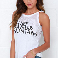 Chaser Surf Sand and Suntans Ivory Top
