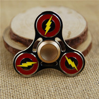 The Flash Metal Plated Fidget Spinner