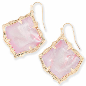 Kirsten Drop Earrings in Blush Pearl | Kendra Scott