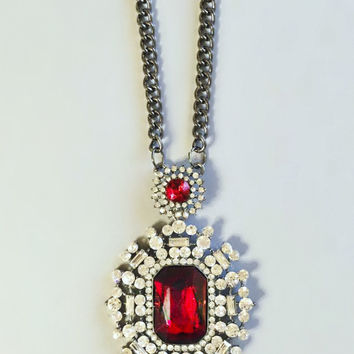 Ruby Czarina Necklace