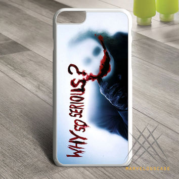 Collection Why So Serious Joker Custom case for iPhone, iPod and iPad