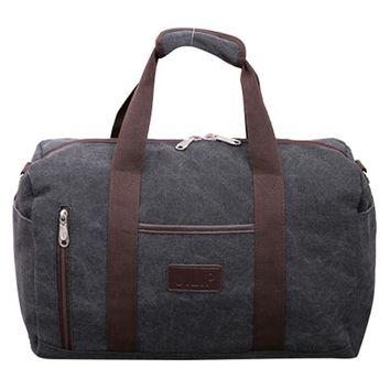 Fashion brand Men Travel Bags Large Capacity Women Luggage Duffle Bags Canvas Folding Bag For Trip weekend Bag tote Overnight