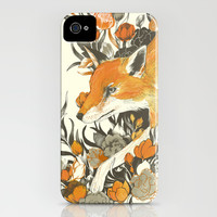 fox in foliage iPhone & iPod Case by Teagan White