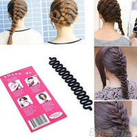 Hair Braiding Tool Roller With Magic hair Twist Styling barber Maker tool