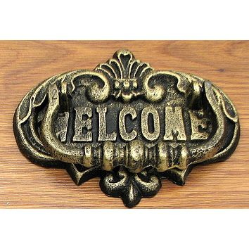 Welcome Door Knocker