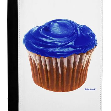 Giant Bright Blue Cupcake Ipad Mini Fold Stand  Case by TooLoud