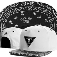 Cayler Sons Snapback Hat Cap Fitted