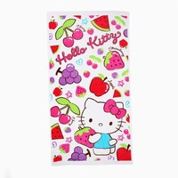 Hello Kitty XL Beach Towel: Fruity