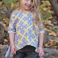 Persnickety Juliet Top in October Sky