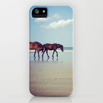 Wild Horses iPhone & iPod Case by Katie_Cupcakes