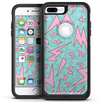 90's Zig Zag - iPhone 7 or 7 Plus Commuter Case Skin Kit
