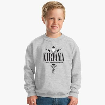 Nirvana Legend Band Kids Sweatshirt