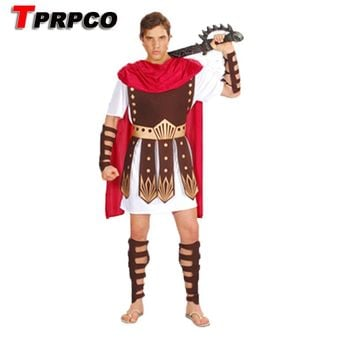 Guard Hercules Roman Gladiator Clothing Set Roman Warrior Costume Halloween Constumes Party Cosplay Men Events Props NL1291