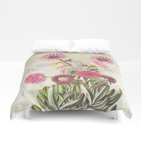 Life is a marvellous garden Duvet Cover by anipani