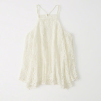 Womens Lace Cami | Womens Tops | Abercrombie.com