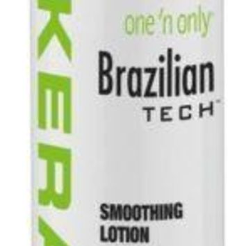 One 'n Only Brazilian Tech Keratin Smoothing Lotion 6 oz