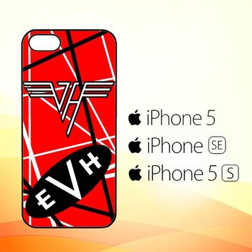 Eddie Van Halen Graphic Guitar X3270  iPhone 5|5S|SE Case