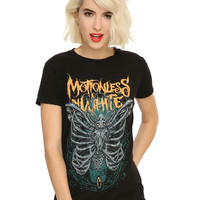 Motionless In White Bone Moth Girls T-Shirt