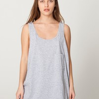 rsa0402w - Unisex Big Pocket Tank