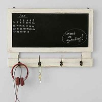 Chalkboard Message Shelf- White One