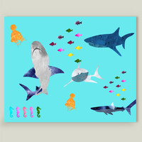 Fish meal Art Print by Design4uStudio on BoomBoomPrints