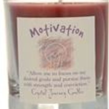 Motivation soy votive candle