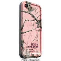 LifeProof - frē RealTree APC Hard Shell Waterproof Case for Apple® iPhone® 5 and 5s - Pink