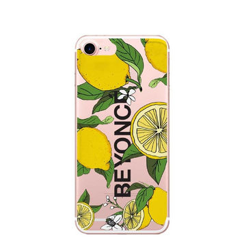 For iPhone7 7Plus 6 6S 6Plus 5 5S SE Case Cloud unicorn  I Ain't Sorry Beyonce Lemonade Boy Bye Clear Soft TPU Case Capa C