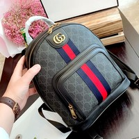 GUCCI men and women wild large capacity outdoor sports backpack