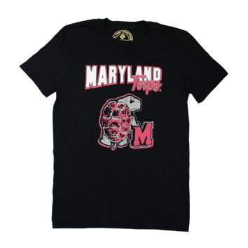 Vintage University of Maryland Turtle Back Classic (Black) / Shirt