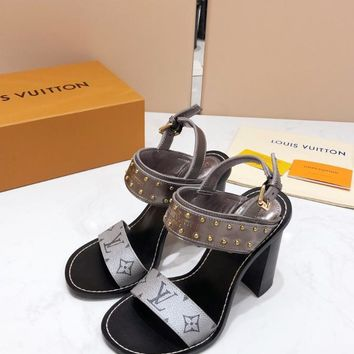 Louis Vuitton Lv Nomad Sandal #2183