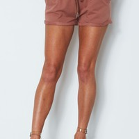 Lover Boy Shorts Dusty Rose