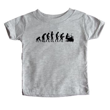 Evolution Drummer Baby Tee