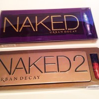Urban Decay Naked & Naked2