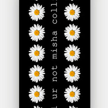lol ur not misha collins - Daisy Pattern - Full printed case for iPhone - by HeartOnMyFingers - ANT-143