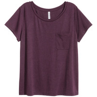 T-shirt with Chest Pocket - from H&M