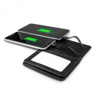 Portable Wallet Power Bank Charger Case 3000Mah