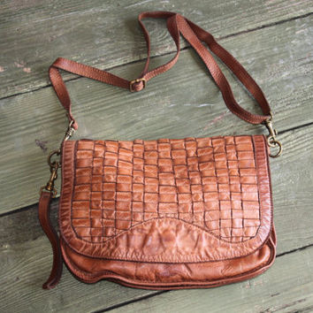 Beautiful Italian Leather CrossBody Bag!!!