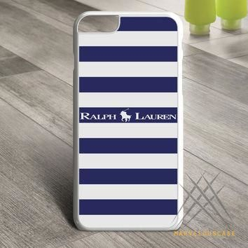 Polo Ralph Lauren Blue White Stripes Custom case for iPhone, iPod and iPad