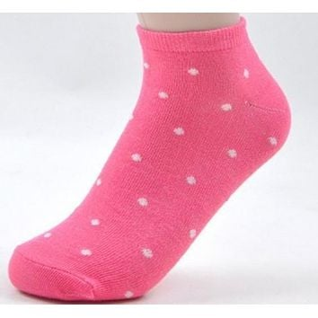 women's socks solid color love candy color dot sock women's thin sock slippers.mix colors.24pcs=12pairs/lot,free shipping