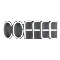 LED Neon Coffee Wall Sign Novelty Wall Lights Turquoise - Room Essentials™