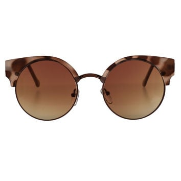 Claudia Round Sunglasses