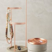 Tesora Jewelry Storage Collection by Anthropologie in Copper Size: Jewelry