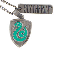 Harry Potter Slytherin Charm Necklace