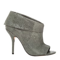 Elope - Low Cut Snakeskin Booties | Max Studio Official by Leon Max | MaxStudio.com